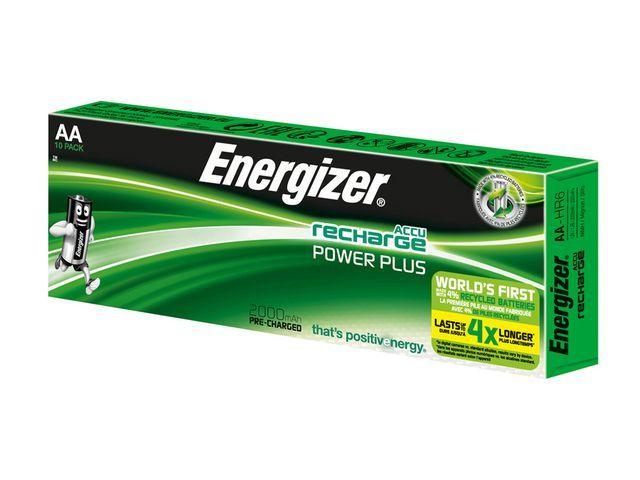 Energizer Batterij Energizer Oplaad 10xAA 2000mAh