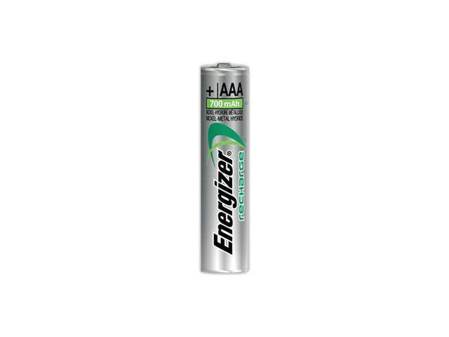 Energizer Energizer Oplaadbare Power Plus batterijen AAA / NH12 700 mAh. blisterverpakking van 10 opgeladen batterijen (pak 10 stuks)