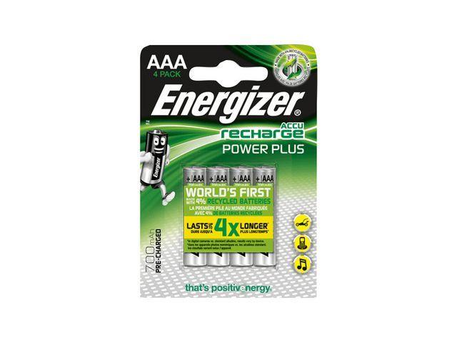 Energizer Batterij Energizer Oplaad 4xAAA 700mAh