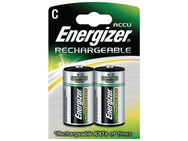 Energizer Batterij Energizer oplaad NiMH C/BS2