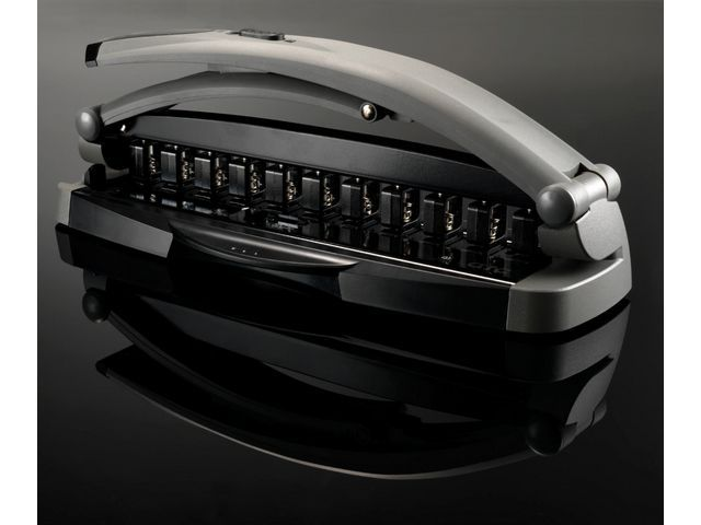 M by Staples Perforator ARC verstelbaar grijs
