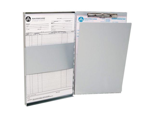Westcott Formulierhouder A4 zij-opening aluminium