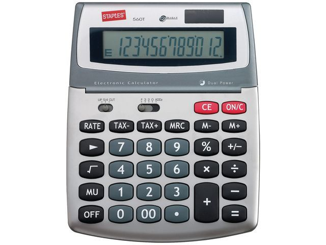 Staples Rekenmachine Staples 560 Medium