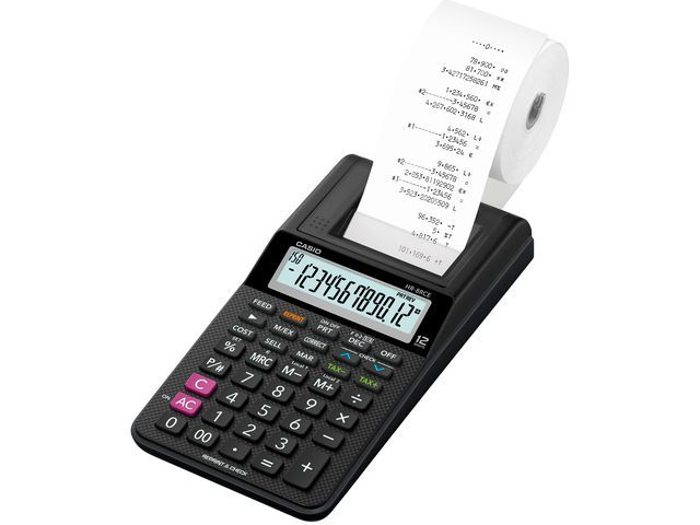 Casio Printing Calculator CASIO HR-8RCE Zwart