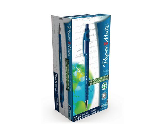 Paper Mate Balpen PM Flexgrip Ultra RT M blauw/ds36