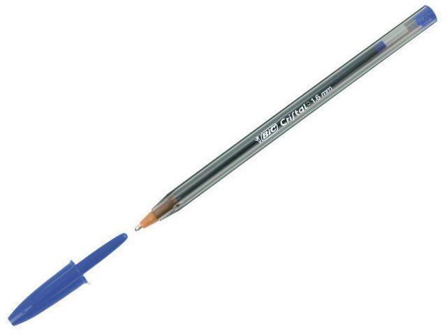 BiC Balpen BIC Cristal Large 1.6mm blauw/d50