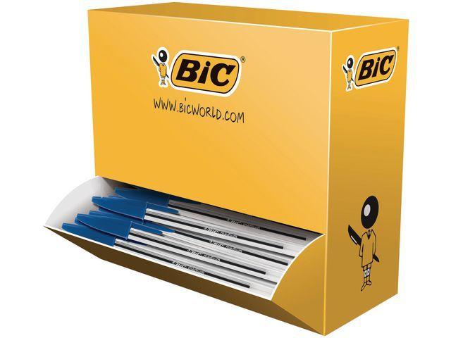 BiC BiC Balpen Cristal Stick Value Pack Medium. blauw (doos 100 stuks)
