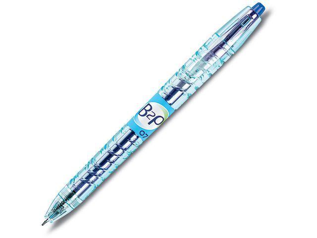 Pilot Begreen Gelpen Pilot BeGreen B2P 0.4 blauw/ds10