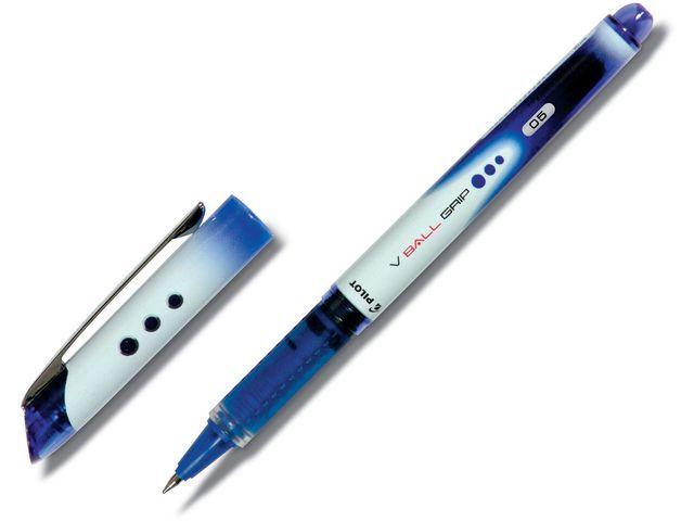 Pilot Rolschrijver Vball Grip 0.3mm blauw/et12