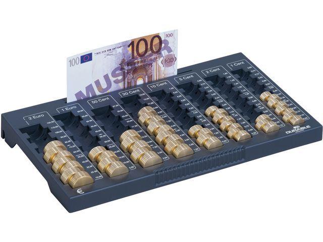 Durable Muntensorteerbak euroboard grijs