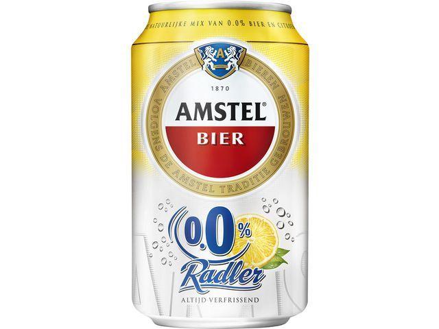 Amstel Bier Amstel Radler 0.0 33cl/pk 24