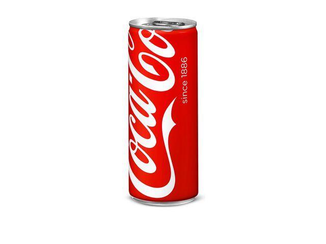 Coca-Cola Frisdrank Coca-Cola reg 0.25l blik/pk 24