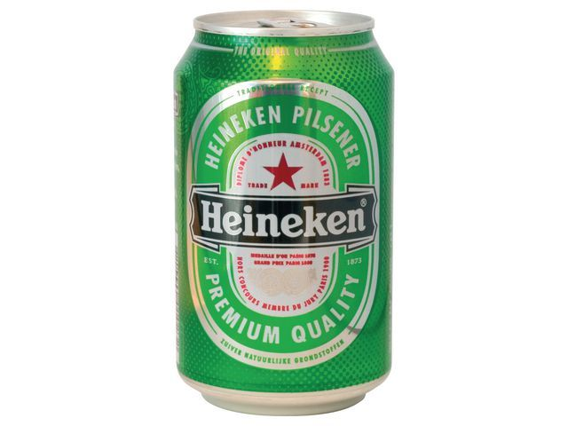 Heineken Bier Heineken 33cl/blik 24