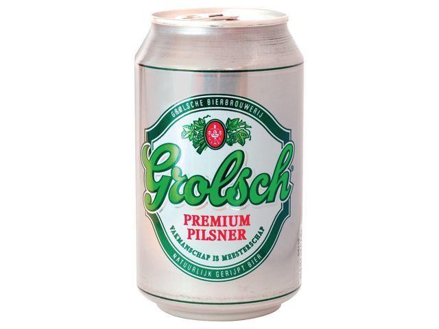 Grolsch Bier Grolsch 33cl/blik 4x6