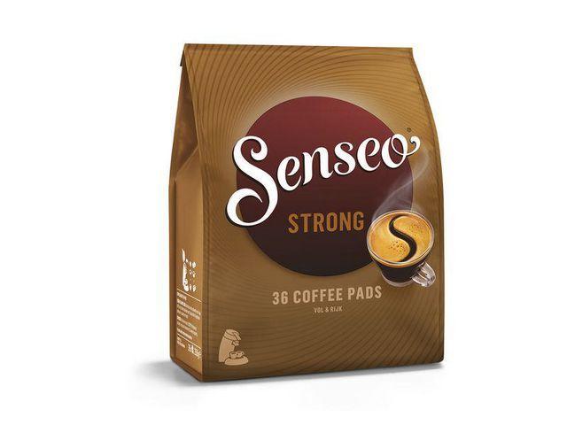 Senseo Koffie DE Senseo dark strong/pak 36pads
