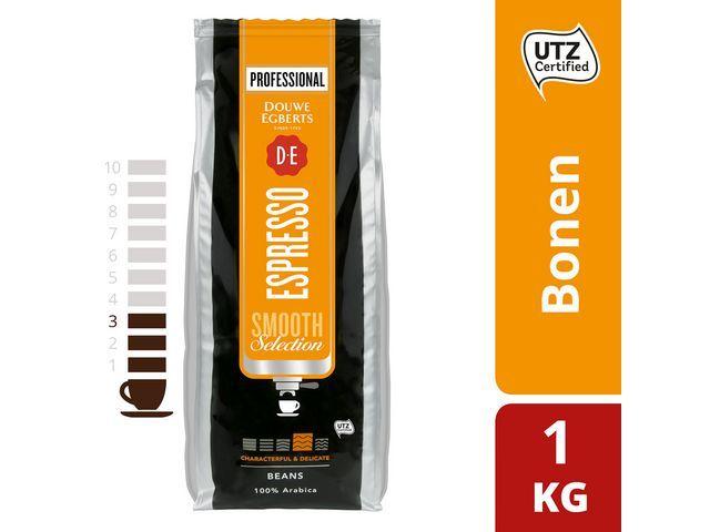 Douwe Egberts Koffiebonen DE espresso smooth sel/1000g