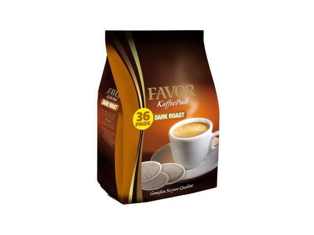 FAVOR Koffiepad Favor Dark roast 7 gr/pk36