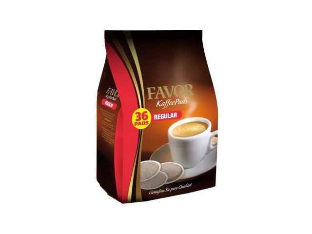 FAVOR Koffiepad Favor Regular 7gr/pk36