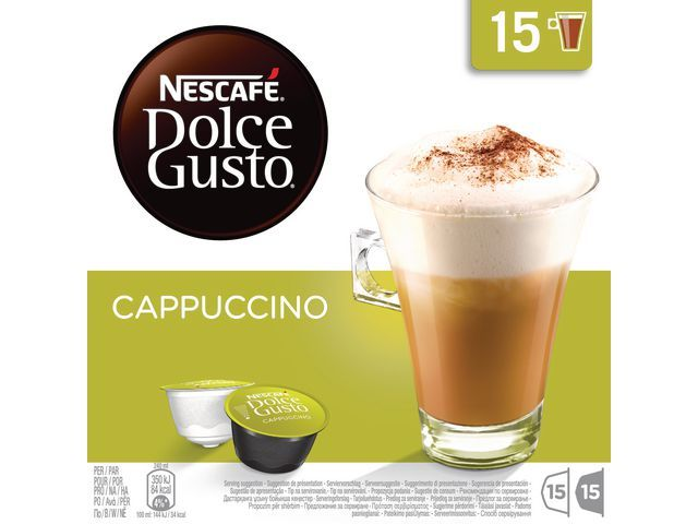 DolceGusto Koffiecup Dolce Gusto cappuccino/ds15x2