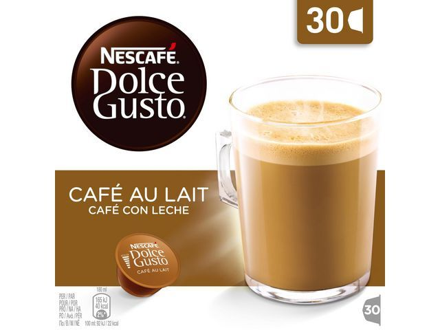 DolceGusto Koffiecup Dolce Gusto cafe au lait/ds30