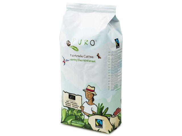 PURO Koffiebonen Puro fairtrade bio 1kg/ds9
