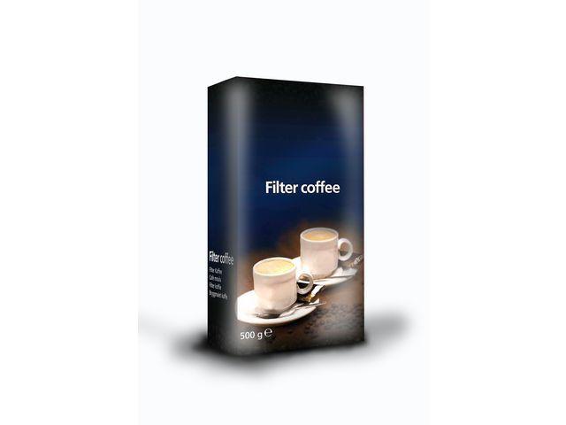 Burosprinter Koffie snelfiltermaling/pk 500gr