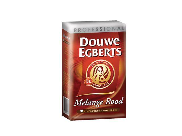 Douwe Egberts Koffie DE snelfiltermaling rood 250g