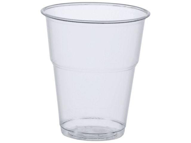 PAPSTAR Drinkbeker kunststof PLA 300cc tr/pk70
