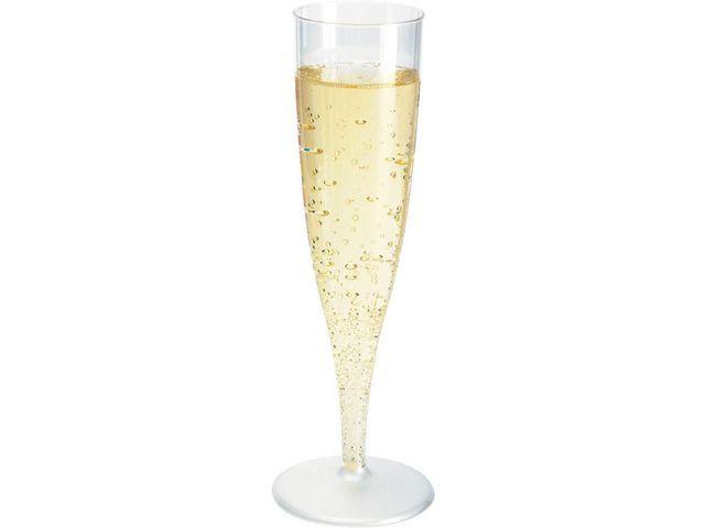 Duni Champagneglazen Duni kunststof pk/10