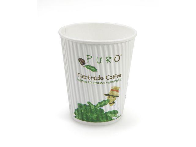 PURO Drinkbeker ripple Puro 180ml kart/ds500