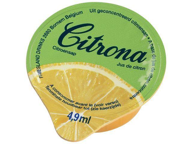 Citroencupjes Citrona/doos 120x4.9 ml
