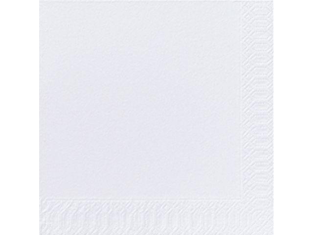 Duni Servet Duni 33x33cm 2lgs wit/pk300