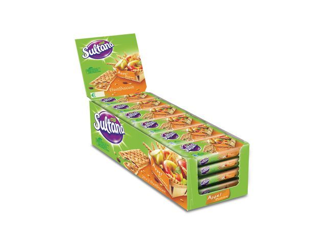 Sultana Biscuit Sultana fruit 43gr appel/p24x3