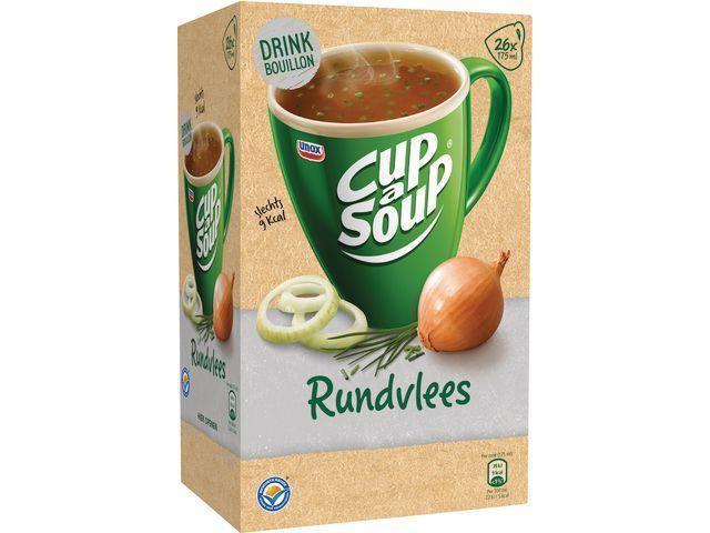 Unox Soep Cup-a-soup drinkb. rundvlees/ds 26