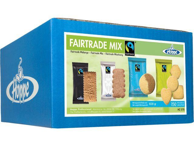 Hoppe Koekjesmix Hoppe fairtrade 4 srt/ds150