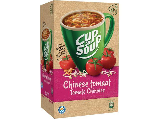 Unox Soep Cup-a-soup chinese tomaat/doos 21