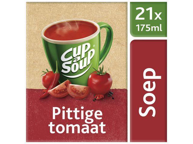 Unox Soep Cup-a-soup Unox spicy tomato/ds 21