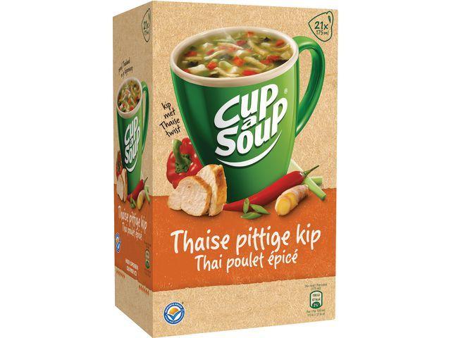 Unox Soep Cup-a-soup Unox spicy Thai Kip/ds21