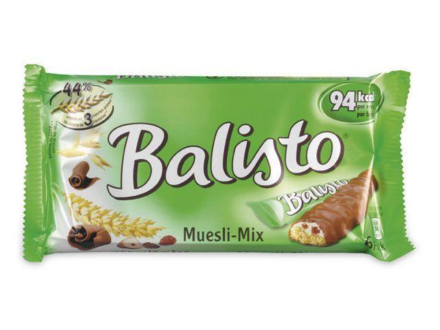 Balisto Balisto muesli mix 37g groen /pk20