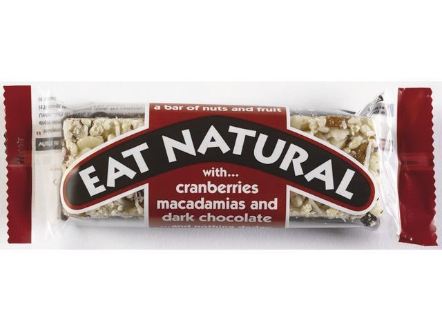 EAT NATURAL Reep Eat Natural choc.puur 45gr/ds12