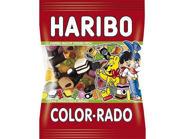HARIBO Snoep Haribo Color rado/pak 250gr