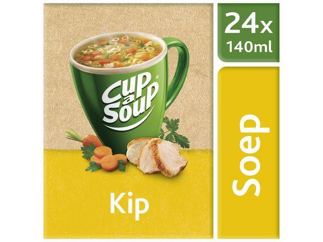 Unox Soep Cup-a-soup Kip 140ml/ds 24