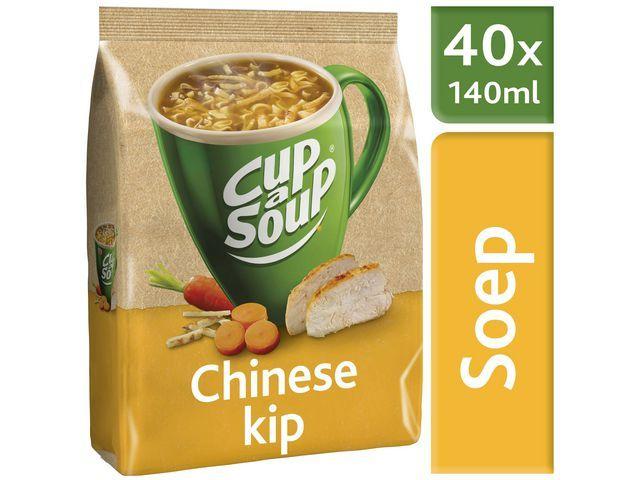 Unox Soep Cup-a-soup chin. kippen 40p/pk