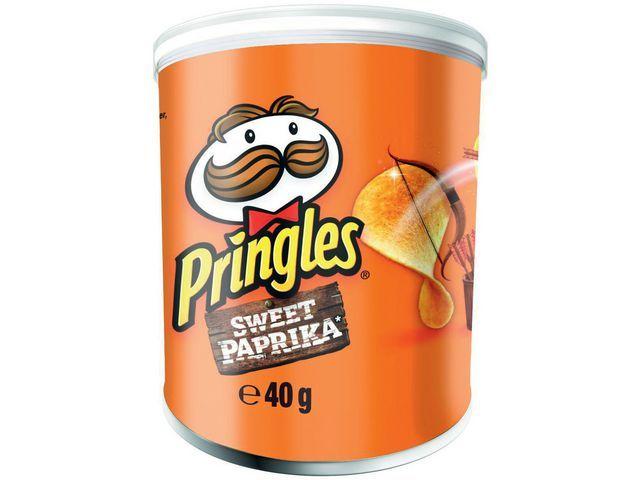 Pringles Chips Pringles Sweet Paprika 40g/pk 12