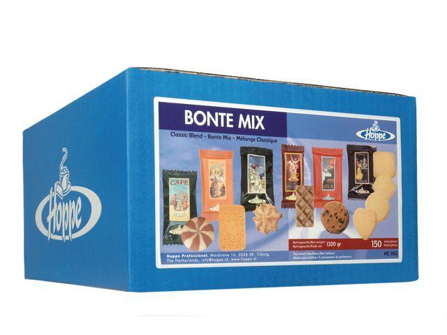 Hoppe Koekjes Hoppe Bonte mix 6 soort/doos 150