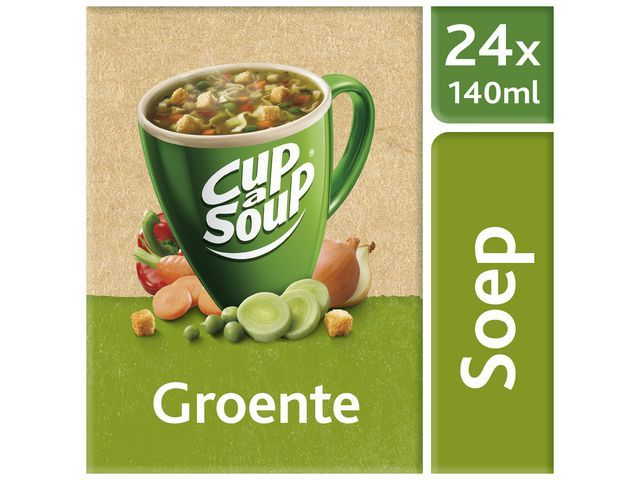 Unox Soep Cup-a-soup Unox groenten/doos 24