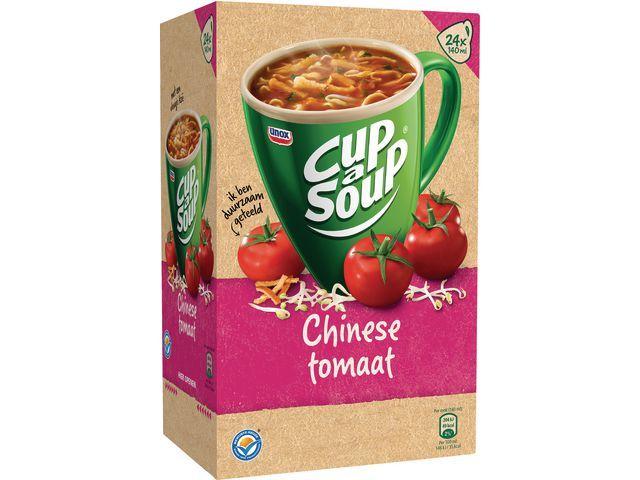 Unox Soep Cup-a-soup Unox chin tomaat/ds 24