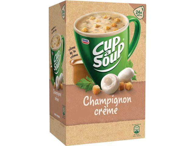 Unox Soep Cup-a-soup champignoncreme/ds 24