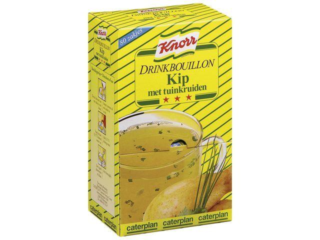 Knorr Drinkbouillon Knorr kip/tuinkr/pk 80