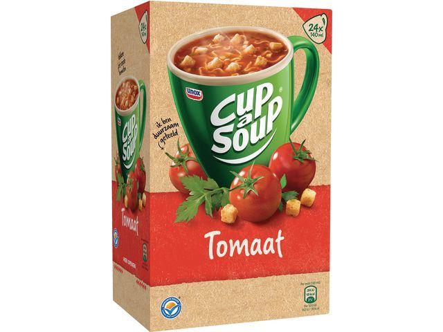 Unox Soep Cup-a-soup Unox tomaten/doos 24
